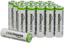 4/8/12/16 Pack AmazonBasics Rechargeable Batteries AA/AAA Re