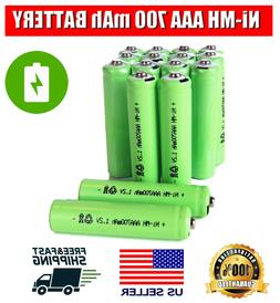 4/8/16Pc AAA 700mAh NiMH Rechargeable Batteries Cells AAA Mu