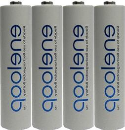 4 Pack AAA Panasonic Eneloop 4th generation NiMH Pre-Charged