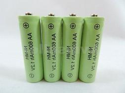 4 AA 600mAh Ni-Mh Rechargeable Battery for Solar Landscape P
