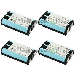 4 Home Phone Rechargeable Battery for Panasonic HHR-P104A/1B