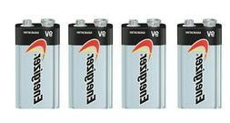 4 Energizer Max 9V 9 Volt 522 Alkaline Batteries  Exp.12/202