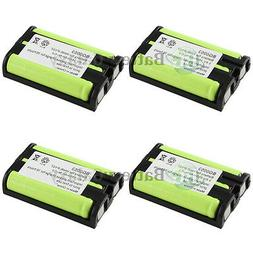 4 NEW Cordless Home Phone Rechargeable Battery for Panasonic