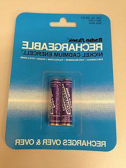 Rechargeable Nickel Cadmium AAA Batteries 1.25V Ni-Cd Radio