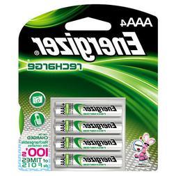 Energizer 4-Pack AAA Rechargeable Nickel Metal Hydride  Batt