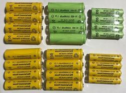 12-pcs 1.2v AA/AAA 600mAh And Ni-Cd/Ni-MH Rechargeable Batte