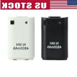 4800mAh Rechargeable Battery Pack Case for XBOX 360 Controll