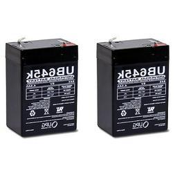 6 Volt 4AH Rechargeable Sealed Lead Acid SLA Battery 6 volt