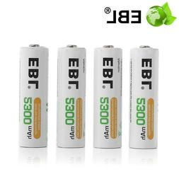 4X Rechargeable 2300mAh AA NIMH Battery For Flashlight Toy C
