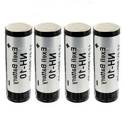 4pc Rechargeable NH10 12V NiMH Battery for Rollei E36RE Flas
