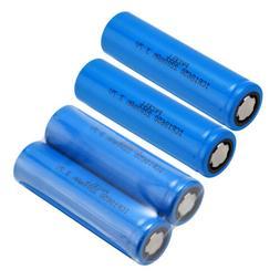 4PCS 3.7V 2200mAh 18650 Battery Li-ion Rechargeable Battery