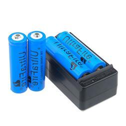 4pcs Ultra 3000mAh Fire 18650 Battery 3.7v Li-ion Rechargeab