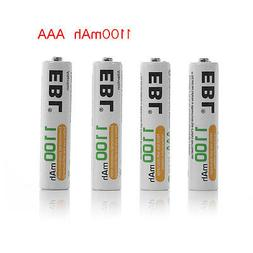4x EBL 1100mAh 1.2V AAA Ni-MH Rechargeable Battery for Camer