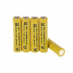 5 X AAA 1.2V 600mAh Solar Light Rechargeable NiMH Batteries