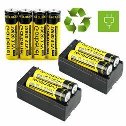 Garberiel 5000mAh Battery Li-ion 3.7V Rechargeable Battery F