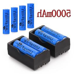5000mAh Rechargeable 18650 Battery 3.7V Li-ion Batteries Cel