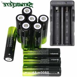 5800mAh SKYWOLFEYE 18650 Battery 3.7v Li-ion Rechargeable Ba