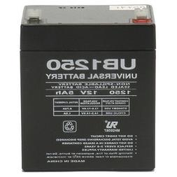 5ah rechargeable lead acid battery