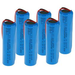 3.7V Li-Ion 2600mAh ICR 18650 Rechargeable Battery w/Wire L