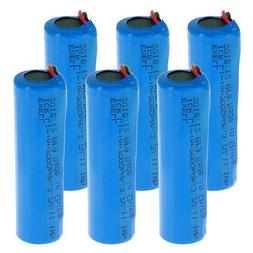 3.7V Li-Ion 3000mAh ICR 18650 Rechargeable Battery w/Wire L