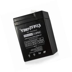 ExpertPower 6 Volt 4.5 Amp Rechargeable Battery