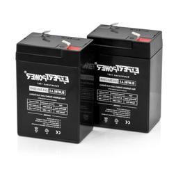 ExpertPower - 6 Volt 6v 4.5ah Rechargeable Deer Game Feeder