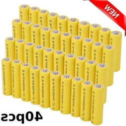 600mAh Rechargeable Batteries Ni-Cd AA For Outdoor Solar Ni-
