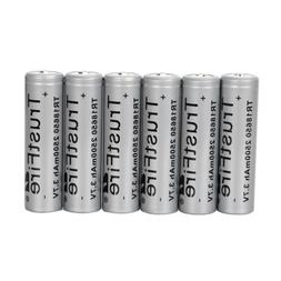 6pcs 18650 3.7V 3000mAh li-ion Lithium Rechargeable 18650 Ba