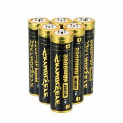 6pcs Skywolfeye 18650 Battery 9900mAh Li-ion 3.7V Rechargeab