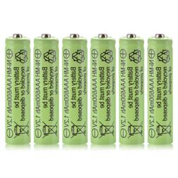 6pcs Ni-MH AAA Rechargeable Battery 1.2V 600mAh for Garden S