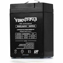 6V 5Ah SLA Rechargeable Battery Electronics
