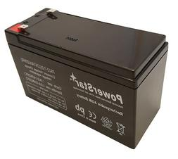12 Volt 7 Amp Hour SLA Alarm Battery for NP7-12 - 3 Year Fre