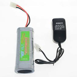 7.2V volt 5300mAh Ni-Mh rechargeable battery pack RC Tamiya