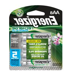8 AA Energizer Rechargeable Power Plus NiMH Batteries AA8 23