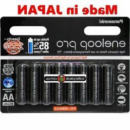 8 Panasonic Eneloop pro AA Rechargeable Battery High Capacit