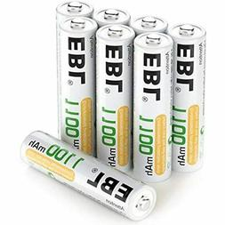 8 Pack AAA Ni-MH Rechargeable Batteries ProCyco Technology (