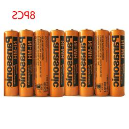 8 Pack Ni-MH 700mAh AAA Rechargeable Battery for Panasonic C
