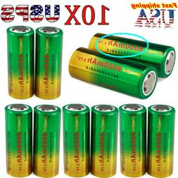 8000mAh 26650 Li-ion Battery 3.7V Rechargeable Battery For F