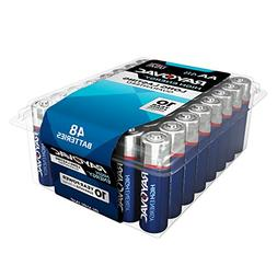 RAYOVAC 815-48PPTF Alkaline Batteries Reclosable Pro Pack