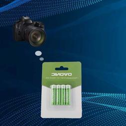 8X Ovonic AAA 850mAh NIMH Battery For Camera Controllers Wir