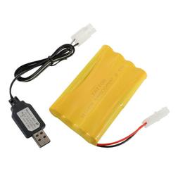 9.6V 800mAh Nickel Cadmium Rechargeable NiCd AA Battery KET