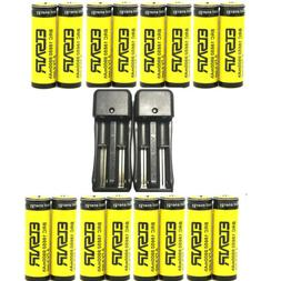 9900mah rechargeable 18650 battery 3 7v li