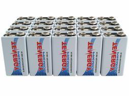 Tenergy 9V Size 200mAh Premium NiMH Rechargeable Batteries S
