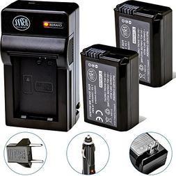 BM Premium 2 NP-FW50 Batteries and Charger for Sony DSC-RX10