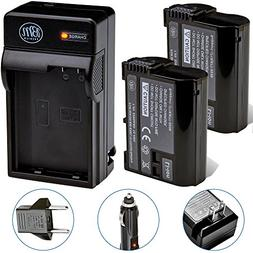 BM Premium 2-Pack of EN-EL15 Batteries and Battery Charger K