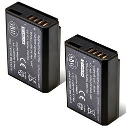 BM Premium 2-Pack of LP-E10 Batteries for Canon EOS Rebel T3