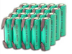 Combo: 20 pcs Tenergy AA 2000mAh NiMH Rechargeable Battery F