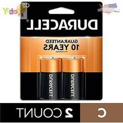 Duracell Alkaline Battery Size C 1.5 V Card 2