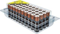 Duracell MN1500 Duralock Copper Top Alkaline AA Batteries -