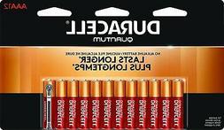 Duracell Quantum Alkaline AAA Batteries, 12 Count